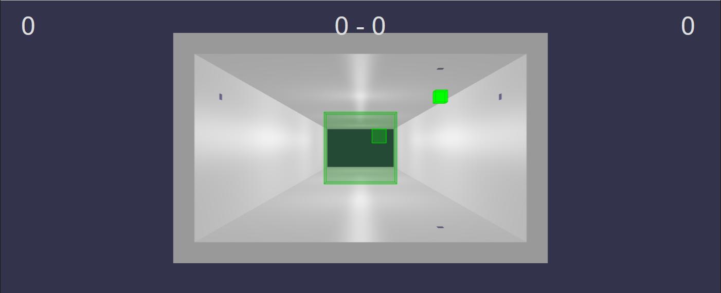 3D pong game