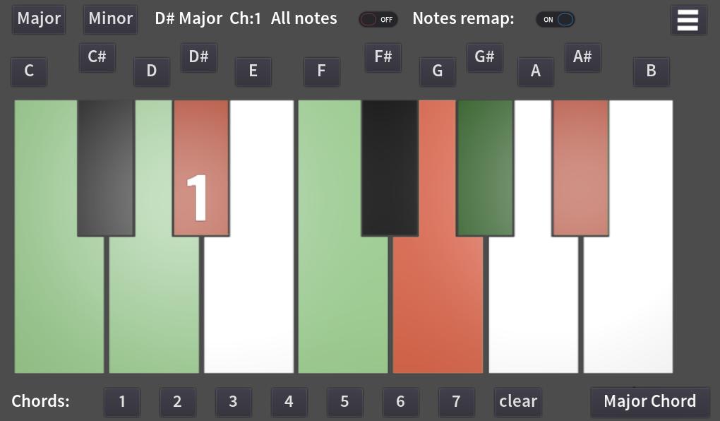 Main Screen Musical Notes Helper